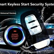 Adeeing универсальная 8 шт. Автомобильная сигнализация без ключа система безопасности PKE Индукционная Противоугонная кнопка дистанционного управления