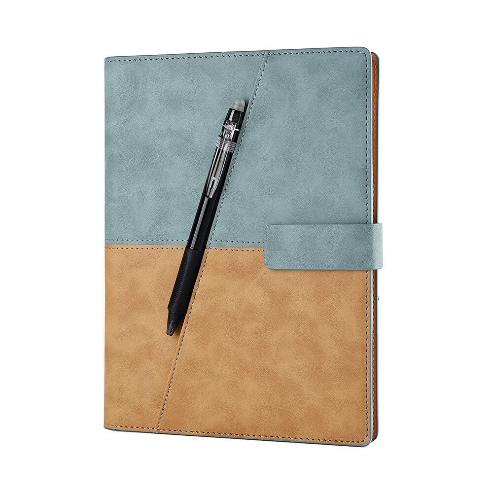 Рисование дать кожа Спираль A5 Тетрадь Smart многоразовые стираемый Журнал Блокнот Elfinbook X Школа Офис подарков Поставки