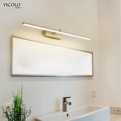 led mirror light Wall lamps bathroom Waterproof white black LED flat lamp Modern indoor Wall lamp Bathroom Light make up mirror