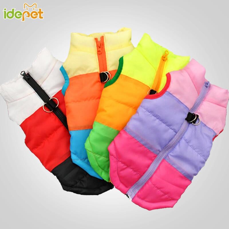Téli kutya ruhák kis kutya kabát kiskutya felszerelés divat ruházat kutya mellény ruházat kisállat chihuahua ruhák roupa cachor 25S1