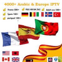 7000 Channels World Global IPTV Germany UK USA CANADA FRENCH IPTV Latin  3/6/12 Month subscription For M3U Mag Android Smart TV