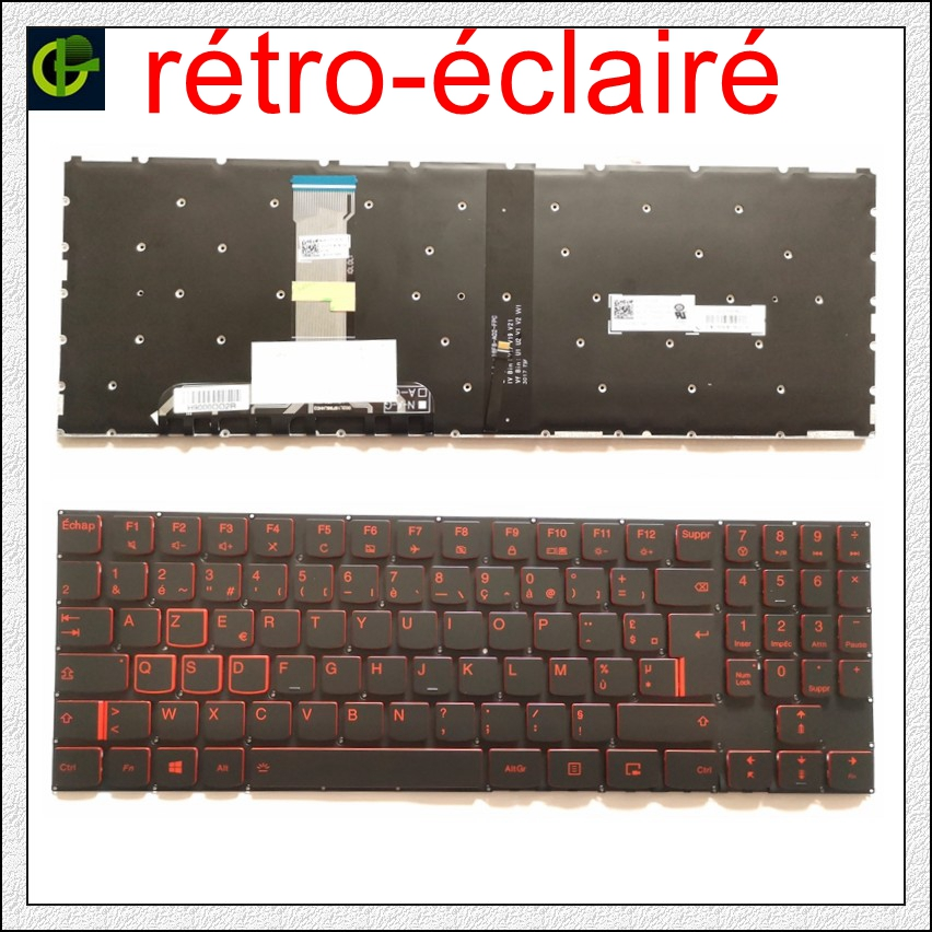 NEW Lenovo Legion R720 Y520-15IKBN//15IKBM Keyboard Upper Case Palmrest Touchpad