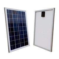 USA Stock No Tax 50W 2 25W 18V Poly Polycrystalline Solar Panel For Charging 12V Battery