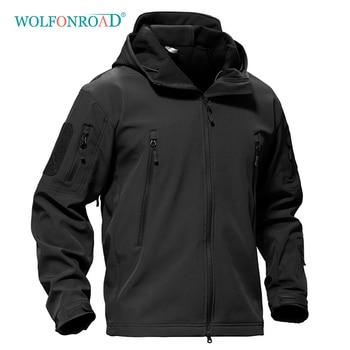 Wolfonroad outdoor softshell jacke