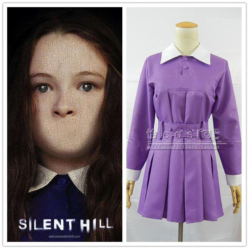 Movie Silent Hill Cosplay Costume Sharon Da Silva Alessa Gillespie