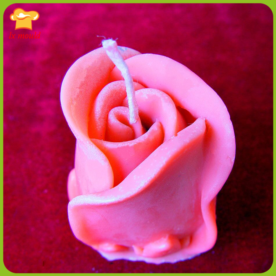 Romantic Valentines Day Birthday Party Tulip Flower Candle Mould