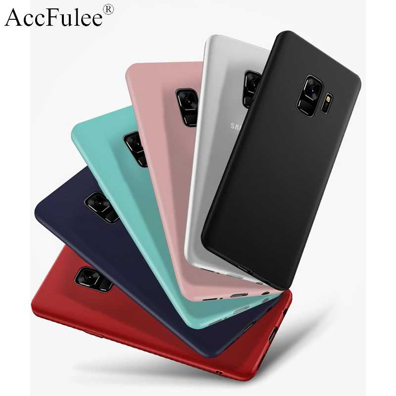 Ultra Tipis Matte TPU Silicone Case For Samsung Galaxy S10 5G S10 Lite S9 Plus S8 S7 S6 Edge s5 S4 S3 Neo Soft Matte Cover