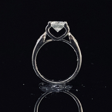 цены 14K White Gold 1ct 2ct 3ct Moissanite Ring Round Cut Luxury Diamond jewelry ring Wedding Ring Engagement Ring