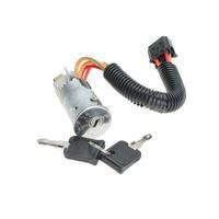 New Ignition Lock Switch Barrel 2 Keys For RENAULT 1998 2005 CLIO MK2 MEGANE SCENIC