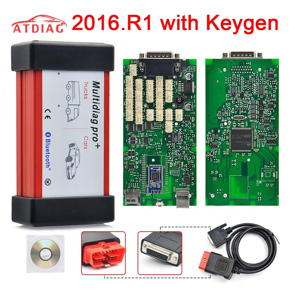 2019 Green Board TCS CDP PRO Plus 2015 R3/2016 R0 Model Bluetooth