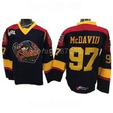 Ediwallen Erie Otters Ice Hockey Jerseys Cheap Edmonton 97 Connor McDavid  College Jersey Premier OHL With c97091811