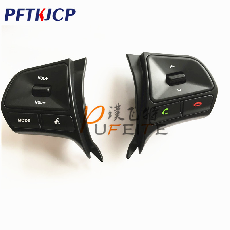 New with Bluetooth!!For KIA k2 new Rio Multifunction Steering wheel button for Audio and Bluetooth control with LightNew with Bluetooth!!For KIA k2 new Rio Multifunction Steering wheel button for Audio and Bluetooth control with Light