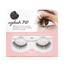 Shozy 3D Handmade Self Adhesive Eyelashes False Extension Natural Long Eyelahses-SAKS01
