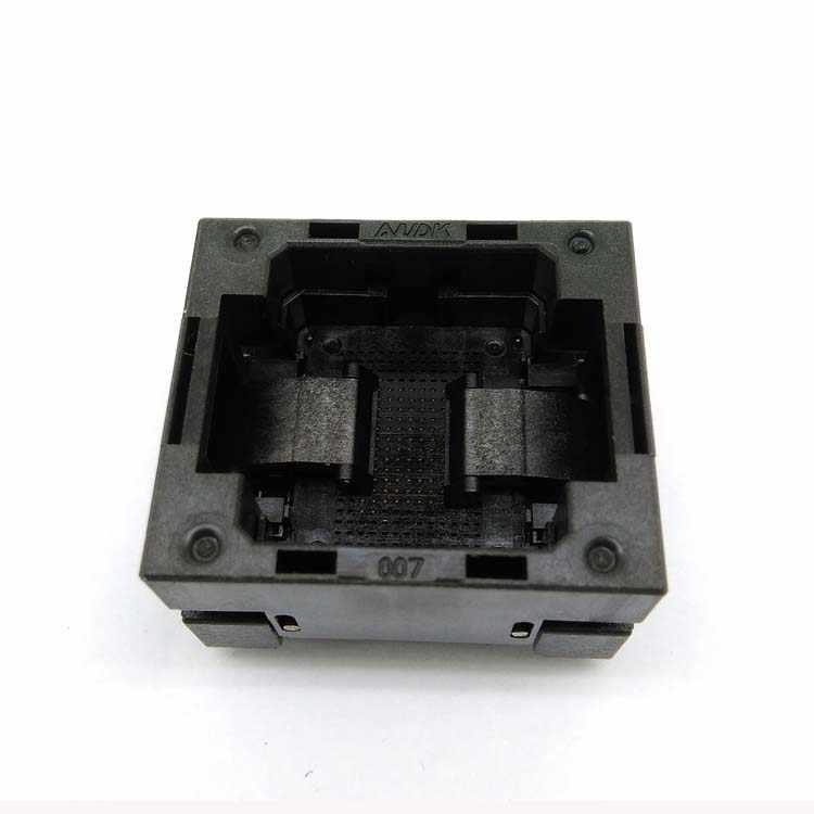 Vfbga107 Bga107 Bga 107 Vfbga 107 Nacd Flash Socket Test Socket Pin Pitch 0 8mm Ic Body Size 13 10 5 Open Top Burn In Socket Aliexpress
