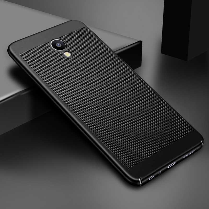 CASPTM الحرارة تبديد غطاء جراب هاتف ل Meizu M5 ملاحظة M3 ملاحظة M5S M5C برو 7 زائد M6 حالات الصلب PC تنفس قذيفة
