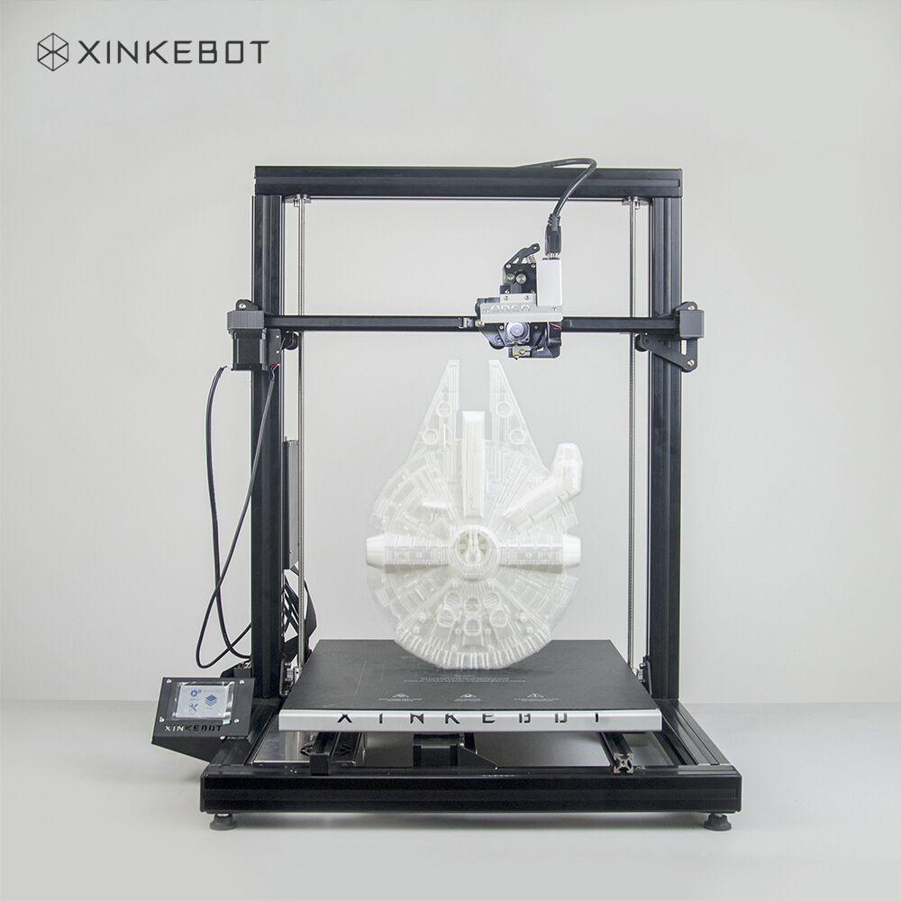 Xinkebot Orca 2 Cygnus Large Size 3D Printer Borosilicate Glass Heated Bed 400x400x500mm Single Extruder 3D