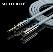 Vention 3.5mm Audio Extension Cable Stereo Male to Female Aux Phone Cable Headphone Adapter for iPhone 6s 6 MP3 CD Player Radio