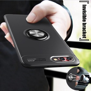 Невидимый кронштейн чехол для Huawei P9 P10 P10Lite Mate10Lite P20 P20Lite Mate20 Lite Nova3 Honor10 кольцо держатель мягкий силиконовый чехол