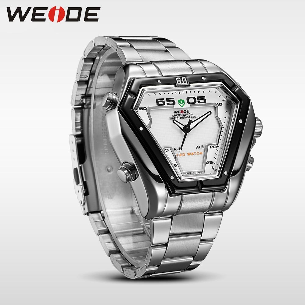 WEIDE Fashion Casual Luxury Klockor Män Luxury Luxury Quartz Watch - Herrklockor - Foto 3