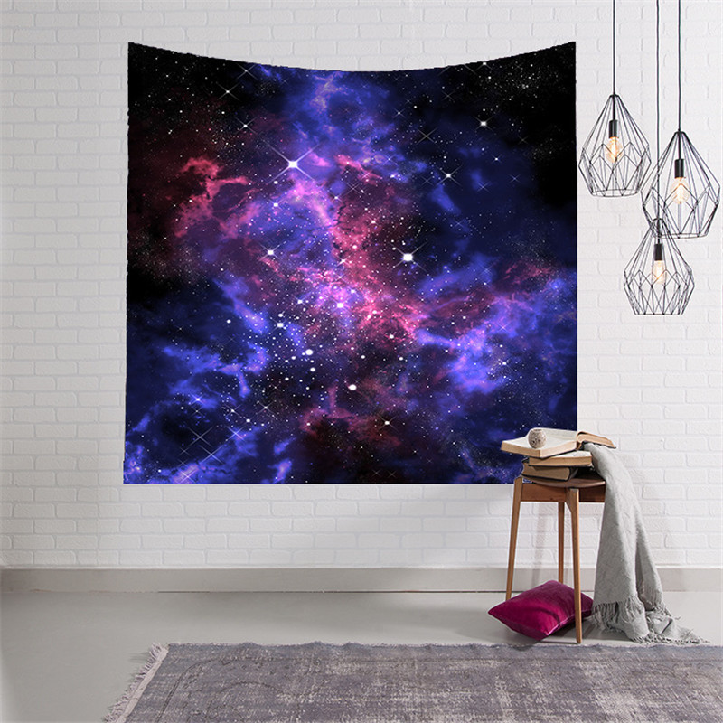 Galaxy psychedelic 3D Printed tapestry wall Elephant exotic pattern carpet hobo decor mandalas tapiz pared
