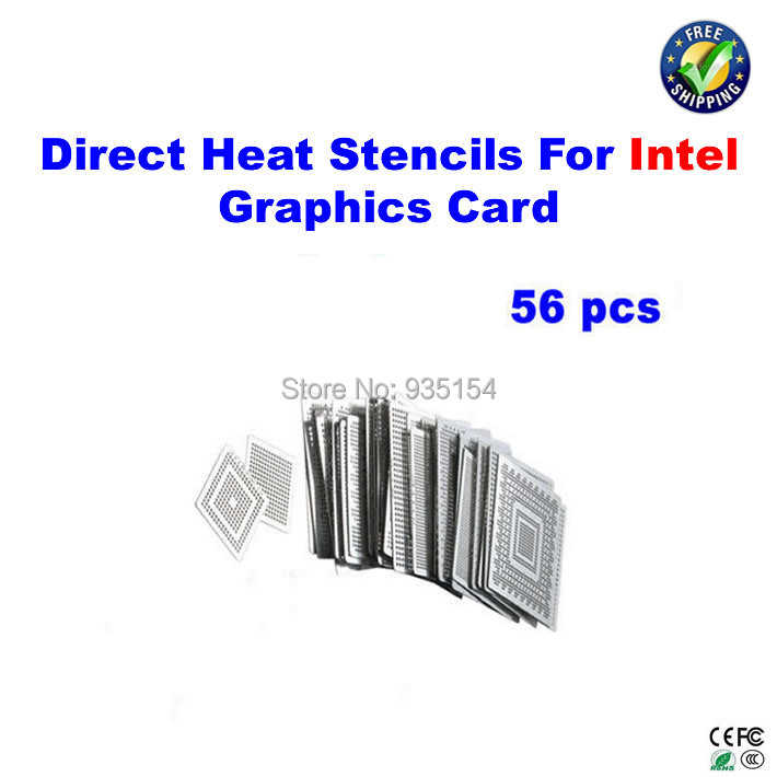 56pcs/lot direct heat stencils for Intel graphics card video card chips vg 86m06 006 gpu for acer aspire 6530g notebook pc graphics card ati hd3650 video card