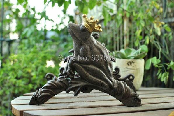 Vintage Cast Iron Wall Mounted Hose Holder, Frog Hose Hanger Rustic Yard  Garden Decor Metal