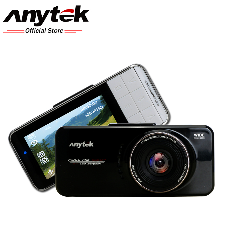 Prix pour Anytek AT66A Novatek 96650 Voiture DVR Full HD Enregistreur De Voiture 170 degré 6G Lentille Caméra Night Vision Cam Dash Voiture Cam Dashcam