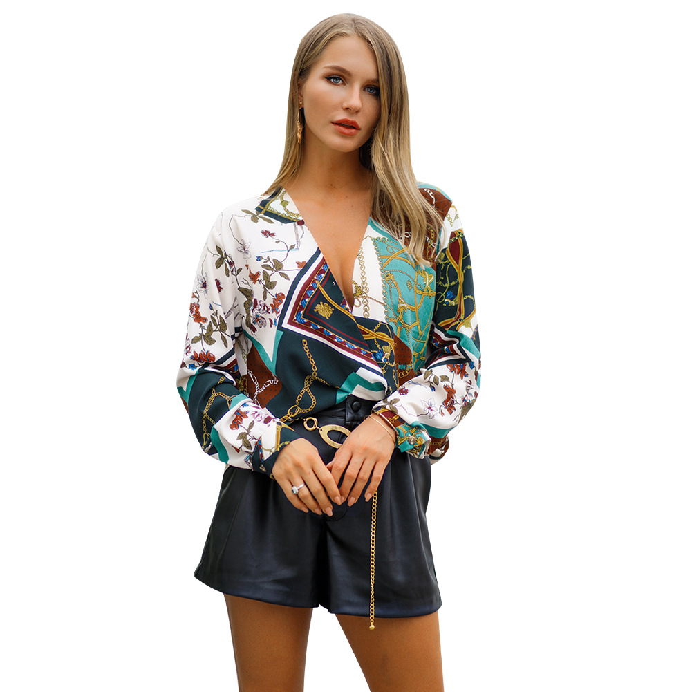 Initially Designer Model Spring and Summer time 2019 New Trend and Excessive-end Girls's Clothes in Europe and America Blouses & Shirts, Low-cost Blouses & Shirts, Initially Designer Model Spring...