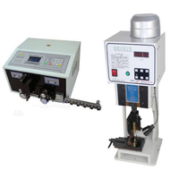 Automatische Abisolieren Maschine SWT508 + 1,5 T Terminal Crimpen mit einzelnes korn form