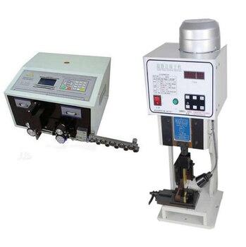 Friso automático do terminal da máquina swt508 + 1.5 t de descascamento do fio com único molde da grão