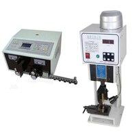 Máquina automática de pelado de cables SWT508 + 1,5 T prensado de terminales con molde de un solo grano