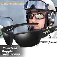 De moda a prueba De viento polarizadas gafas De Sol para hombres, diseñador De marca De hombre del espejo gafas De Sol De conducción anti-uv gafas De Sol Masculino