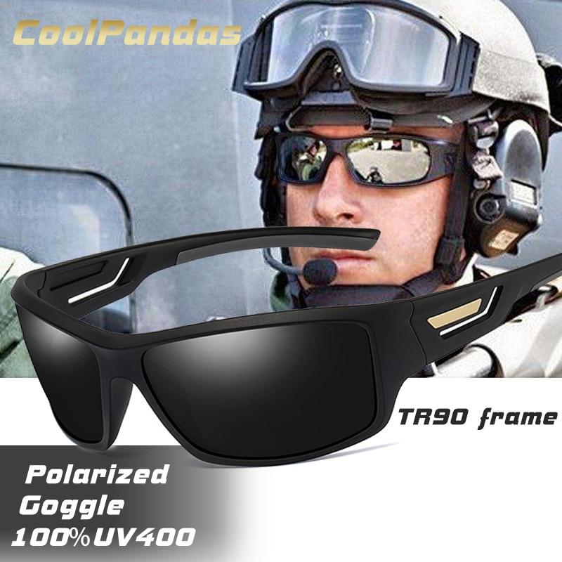 Moda à prova de vento óculos de sol polarizados marca designer de viagem masculino espelho óculos de sol condução anti-uv óculos de sol masculino