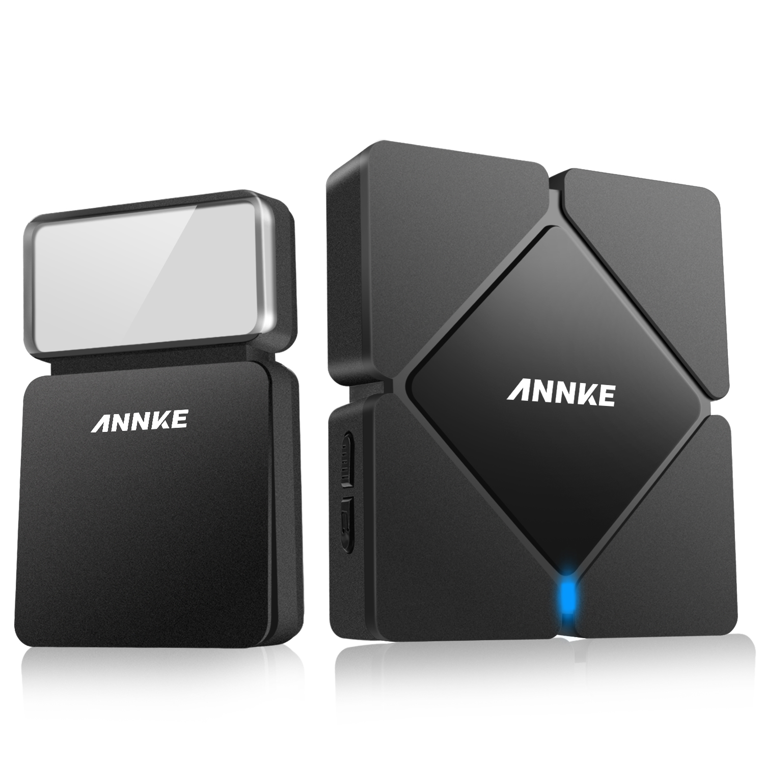 ANNKE EU Modern Wireless Battery-Free Doorbell Home Battery-Free Smart Doorkeeper Up To 110m Wireless Transmission Range