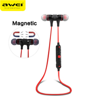 Awei A920BL Sport Wireless Headphones Bluetooth Earphones Stereo In Ear Headset Voice Control Noise Reduction With
