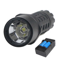 Led flashlight rechargeable 1000lm G2 R2 torch flashlight Hunting lampPortable lighting lamp wit 16340 Battery Charger set