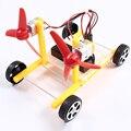 Ветер Мощность Автомобиля Образования DIY Автомобиля Хобби Робот Головоломки IQ Гаджет DIY Наборы Электронные Производства Для Игрушки