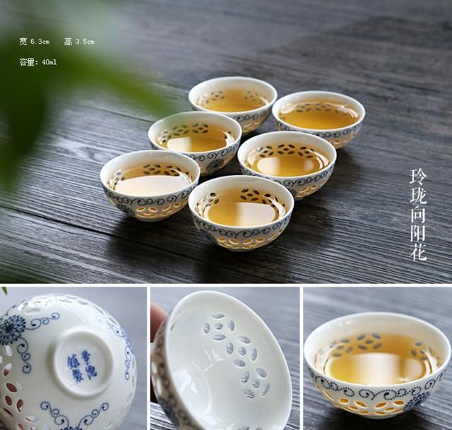 Accessori per la cucina kung fu tea set di combinazione di ...