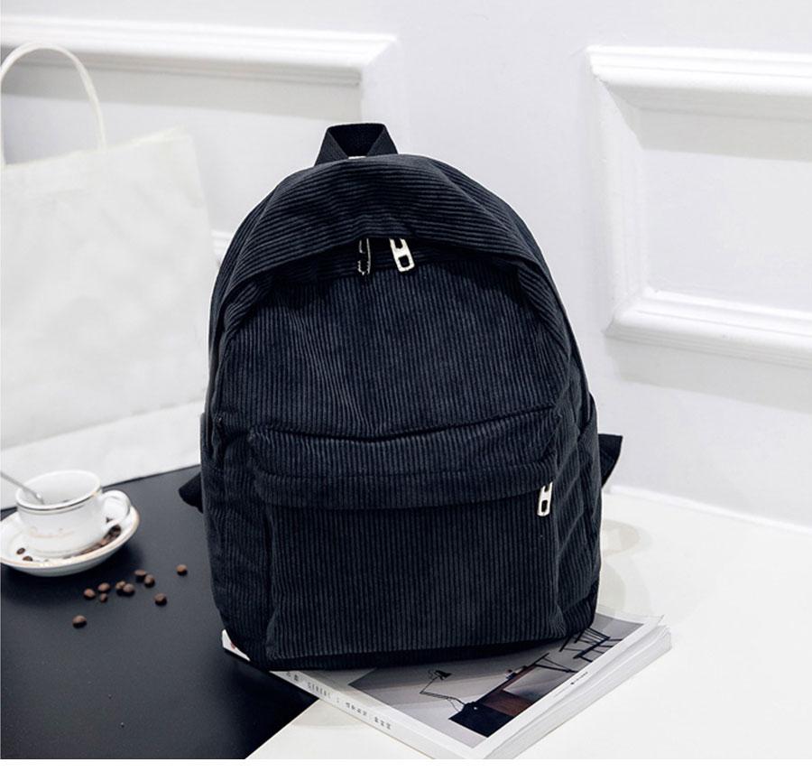 Women Backpack Youth Small Solid Casual Backpacks Students School Bag Teenage Girls Vintage Laptop Bags Rucksack Mochila