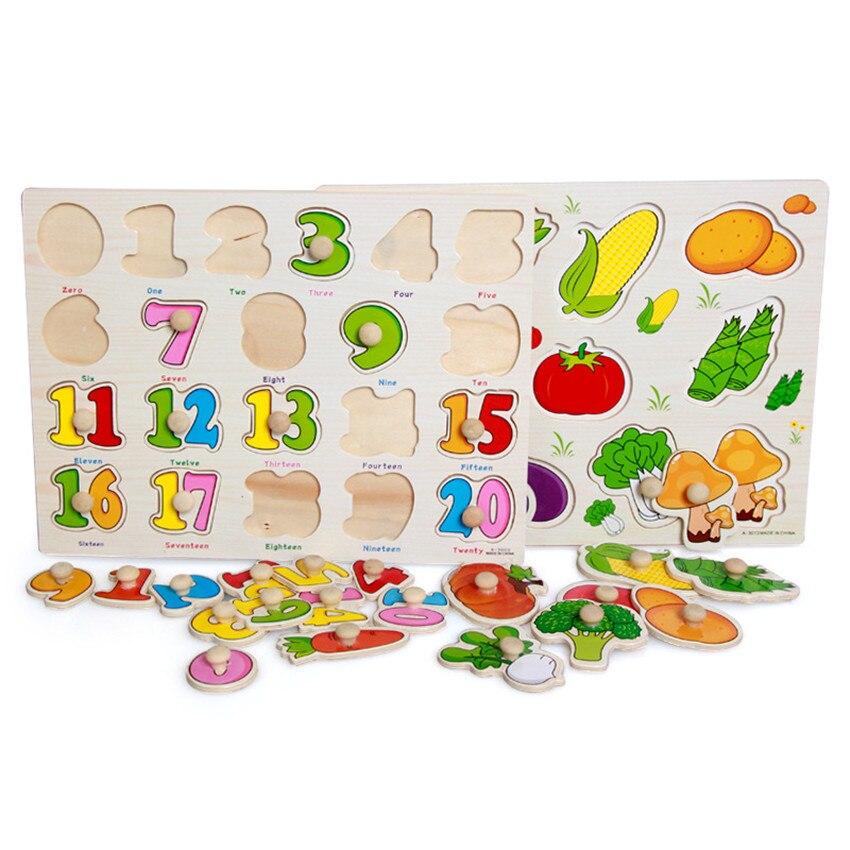 Puzzles Rätsel & Spiele Kinder Früh Pädagogisches Spielzeug Baby Hand Greifen Holz Puzzle Spielzeug Geometrische Figuren Und Fahrzeuge Holz Puzzle Spielzeug Für Kinder