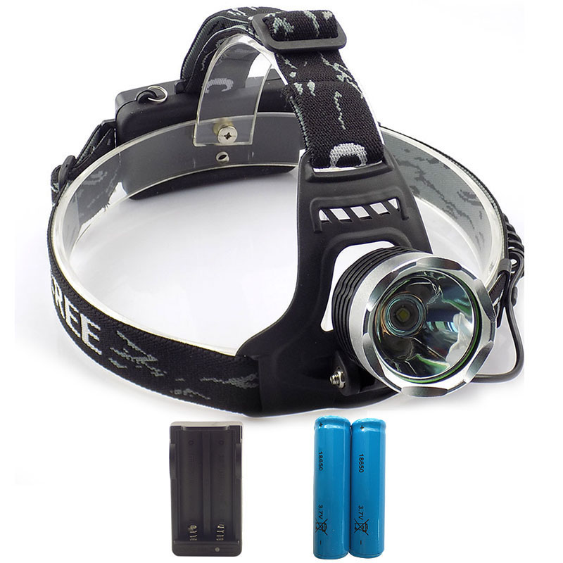 LED Head lamp 2000lm frontal Flashlight Head Torch head light XM-L T6 Headlamp LED Headlight with 18650 batteries charge t6 xpe led head lamp 50w zoomable headlamp 5leds headlight tube torch led flashlight car charger 18650 batteries high lights