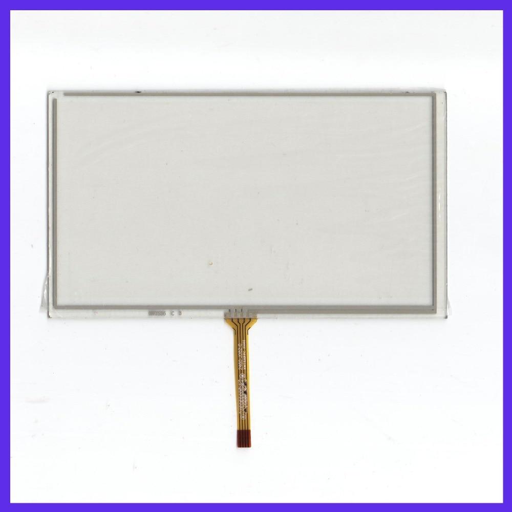 ZhiYuSun venta al por mayor para PROLOGY MDN-2670T nuevo 6,2 pulgadas 4 línea de DVD del coche de la pantalla táctil del Sensor del panel de vidrio es compatible