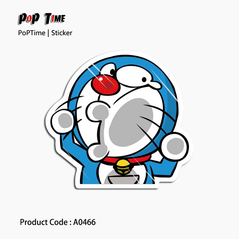 A0466 Doraemon Classic Fashion Style Graffiti Stickers Motorcycle suitcase laptop Skateboard Decal Bicycle Notebook Waterproof
