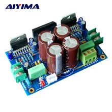 Aiyima TDA7293 Conseil Amplificateur 100 W + 100 W Double-face Immersion Or DIY KITS