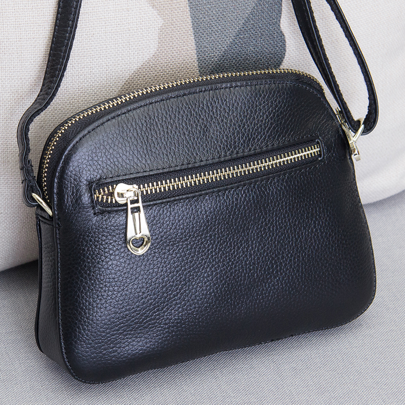 Hot Slae New Item Genuine Leather Small Messenger Bags For Ladies Handbags Female Cowhide Shopping Packs Single Shoulder Bag