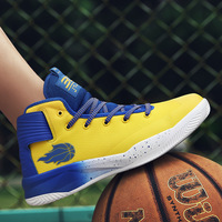 Basketball shoes 2018 new antiskid sports shoes outdoor breathable fitness men's shoes large size women's shoes