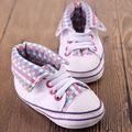 Brand New Baby Girls Boys Soft Sole Canvas Shoes Infant Toddler Crib Shoes Bebe First Walkers Zapatos Free Shipping