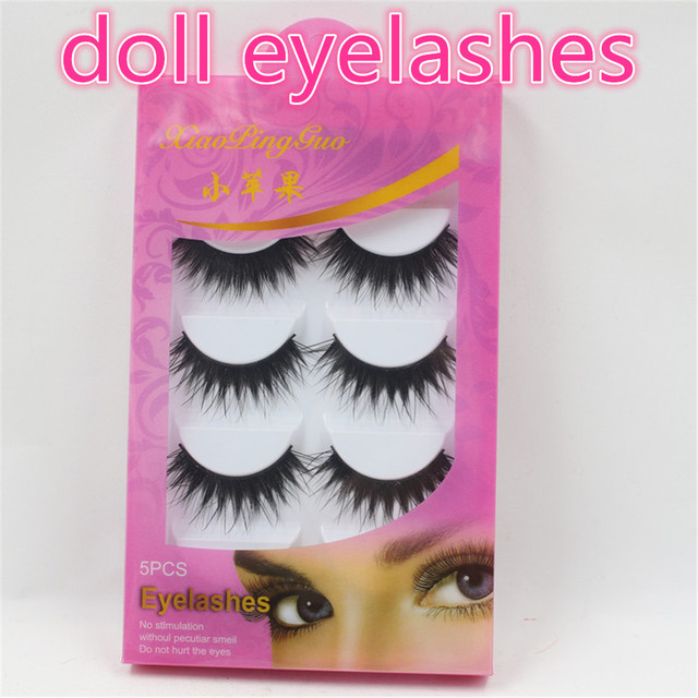 Doll Eyelashes Suitable For Blyth Icy Middie Blyth Dolla Box Of 5