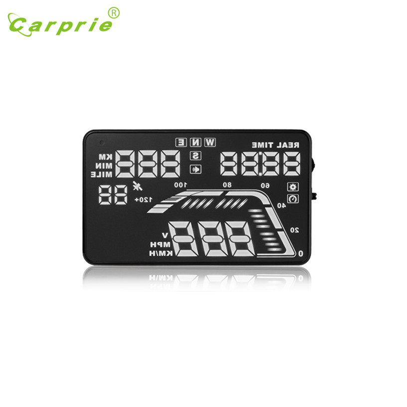 Dropship Hot Selling Newest Universal Car GPS HUD Head Up Display KM/h & MPH Speed Warning Plug& Play Gift Aug 22