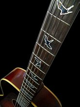 Fret Markers for Guitar & Bass Inlay Sticker Decals In Abalone Theme -Birds Green/Blue/ with Edge